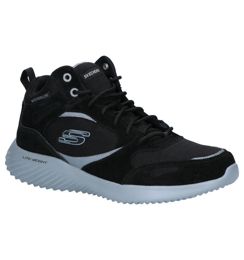 Skechers Bounder Hybridge Zwarte Boots