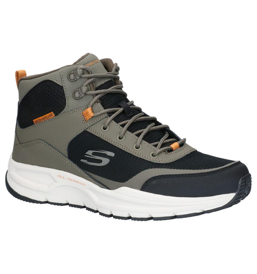 Skechers Escape Plan Kaki Boots