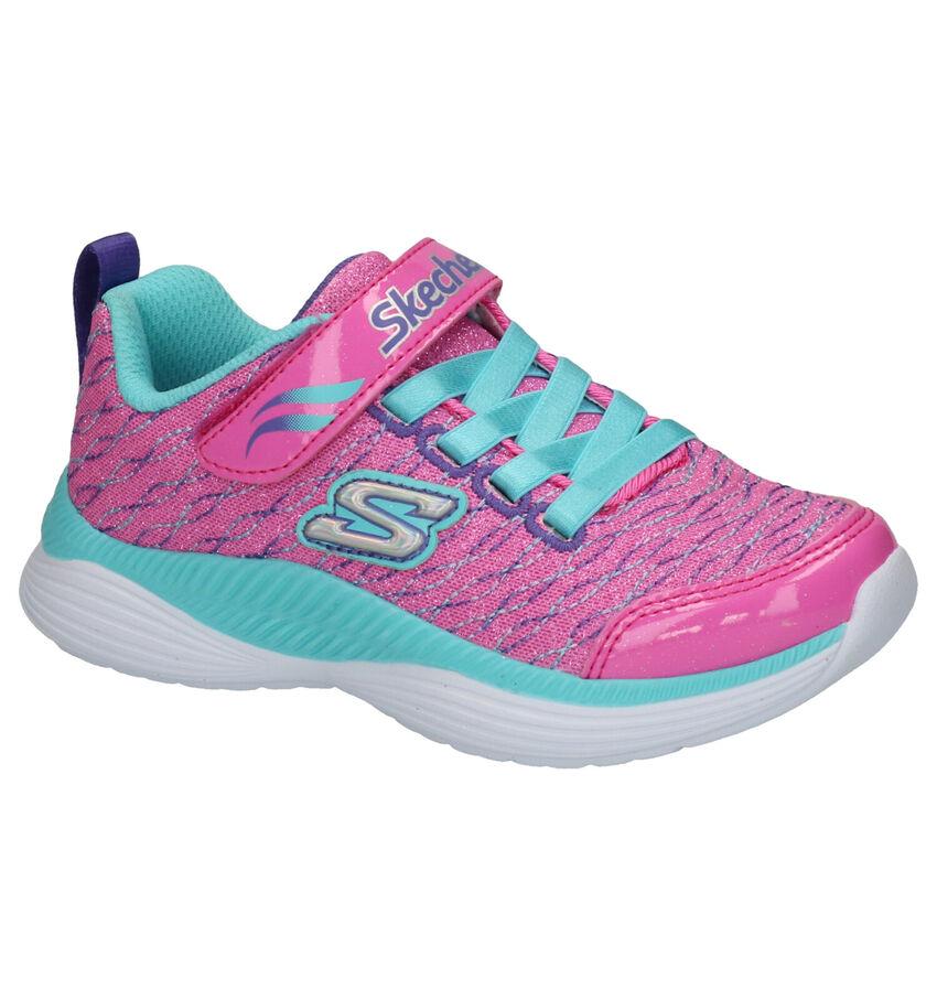 Skechers Move'n Groove Roze Sneakers