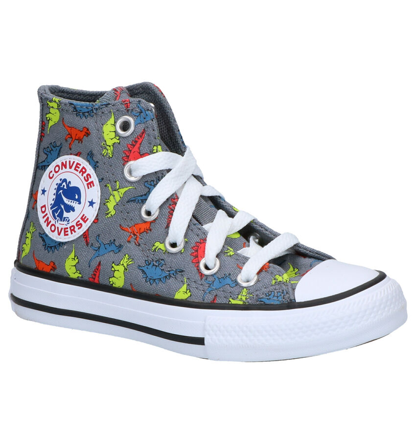 Converse Chuck Taylor AS Grijze Sneakers