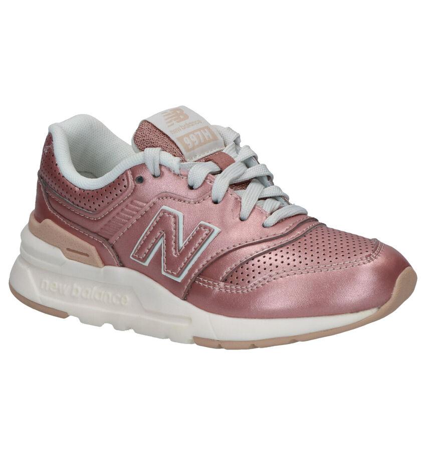 New Balance 997 Roze Sneakers