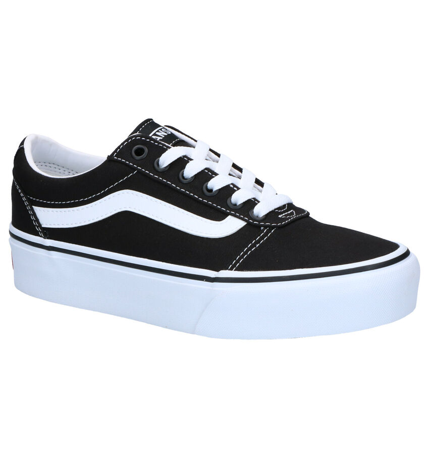 Vans Platform Zwarte Sneakers