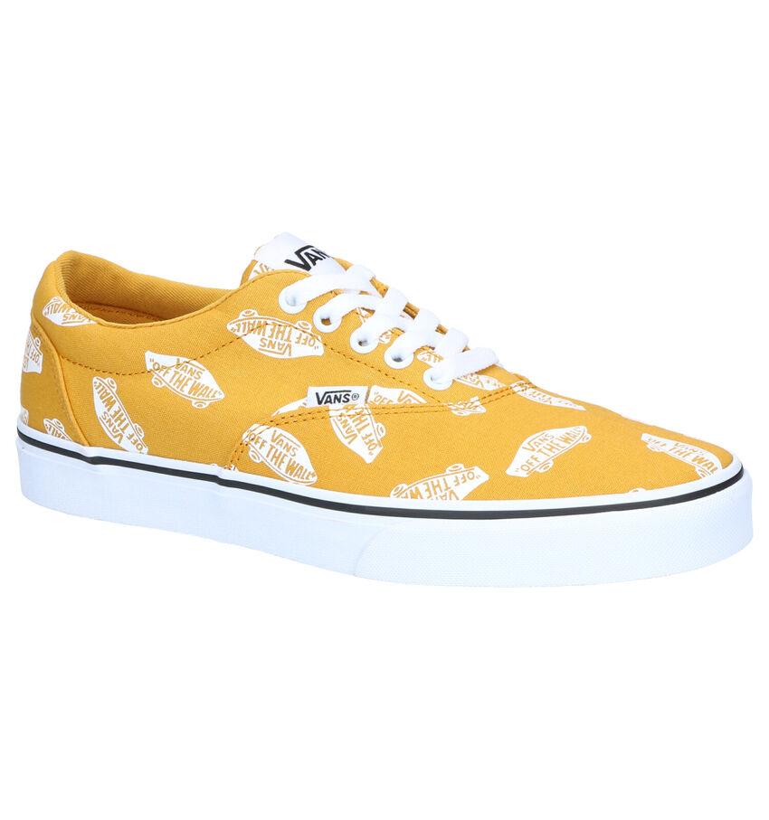 Vans Ward Gele Skateschoenen