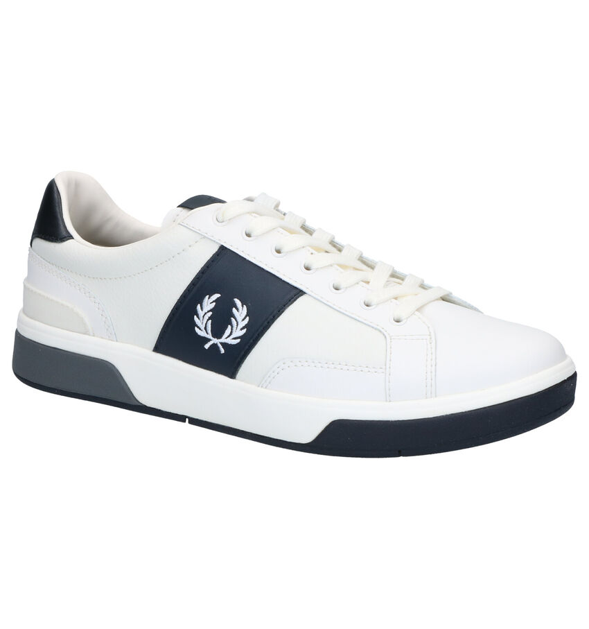 Fred Perry Ecru Veterschoenen