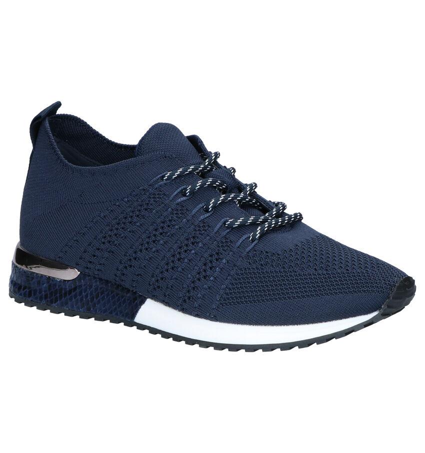 La Strada Blauwe Sneakers