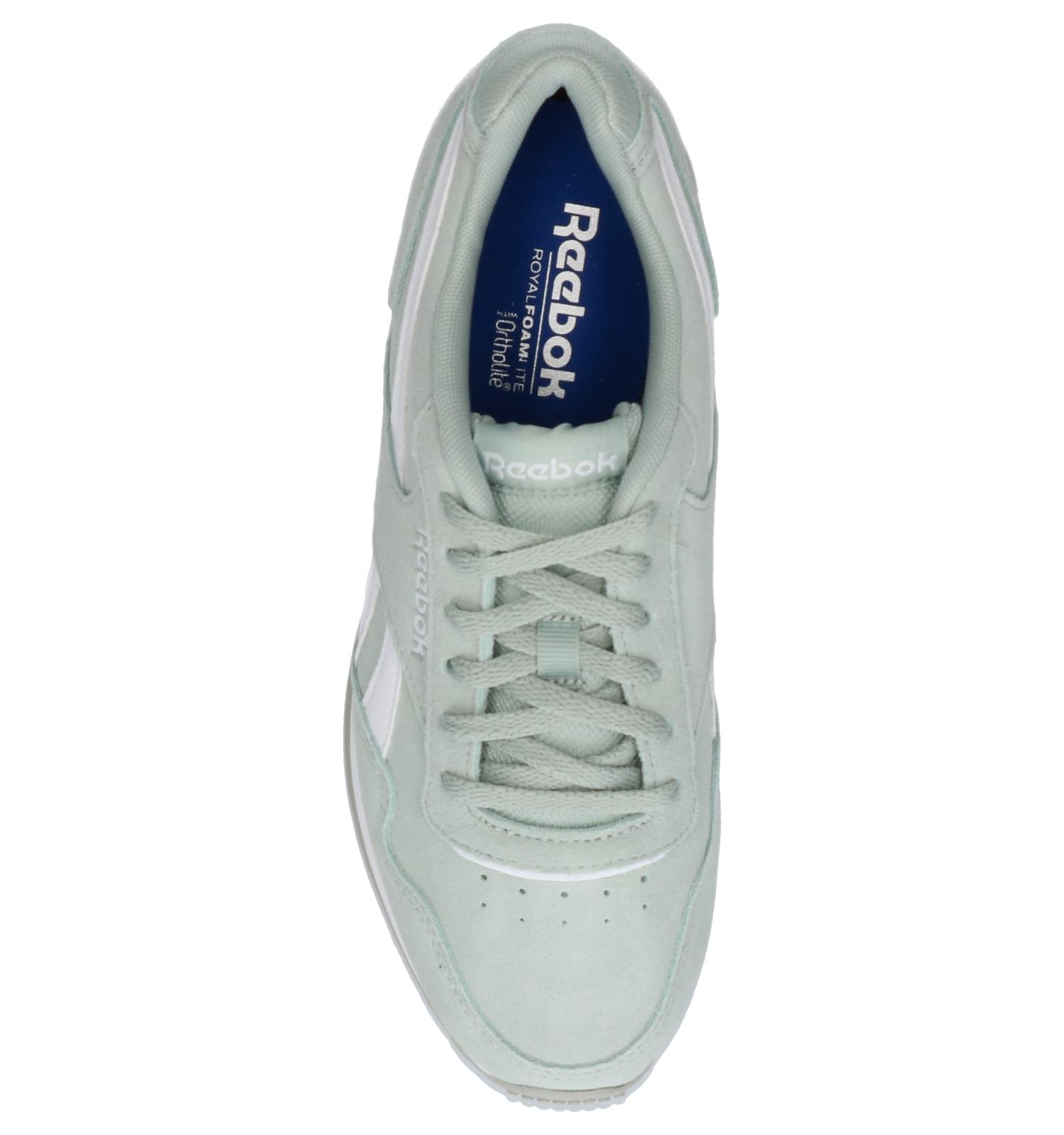 Muntgroene Sneakers Reebok Royal Glide | SCHOENENTORFS.NL | Gratis verzend en retour