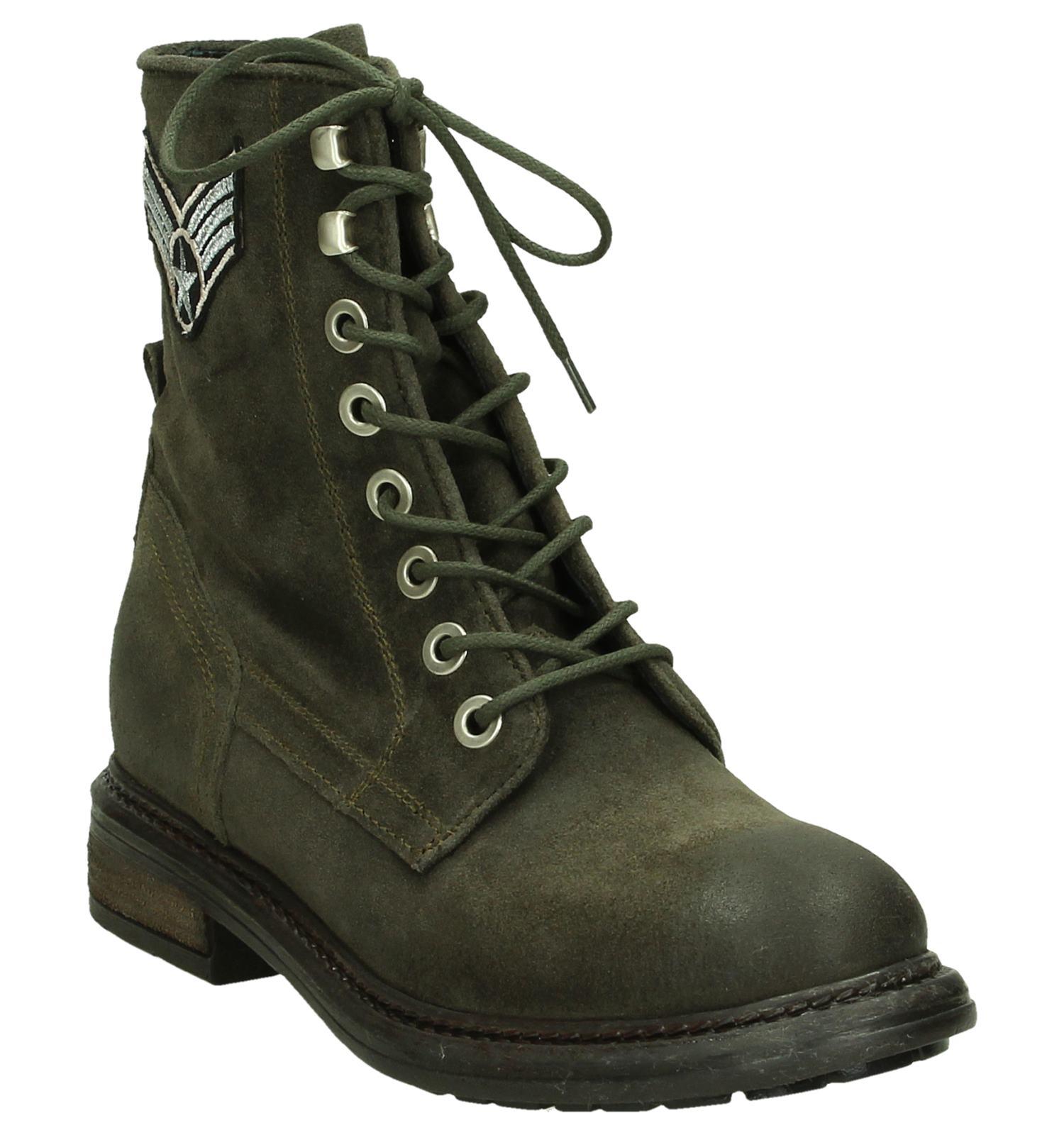Army Rose Boots Kaki Kaki Army Boots Miss E29IYeWHD