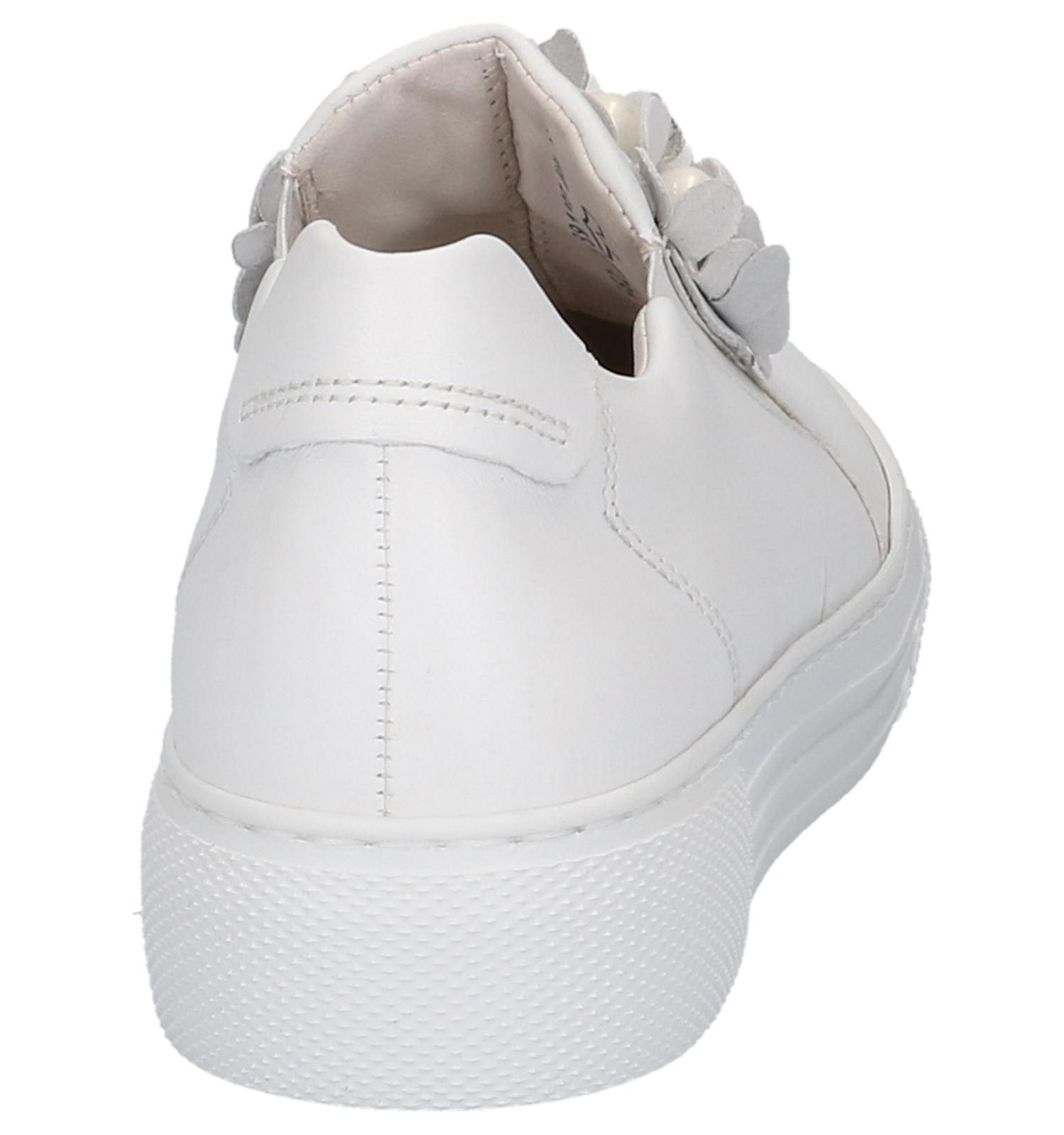 Witte Instappers Comfort Gabor Met Casual Bloemen u135TlFcKJ