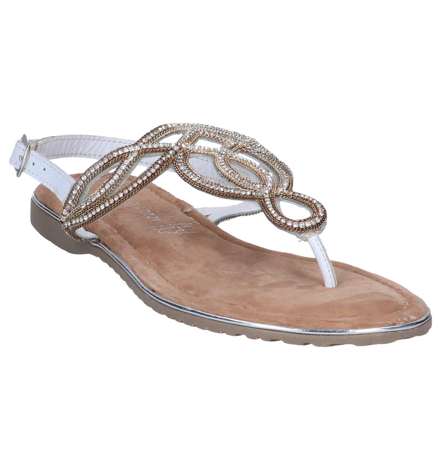 Sandalen Wit Wit Sandalen Tozzi gouden Marco Tozzi gouden Wit Sandalen gouden Marco Marco SMjLqVpGUz