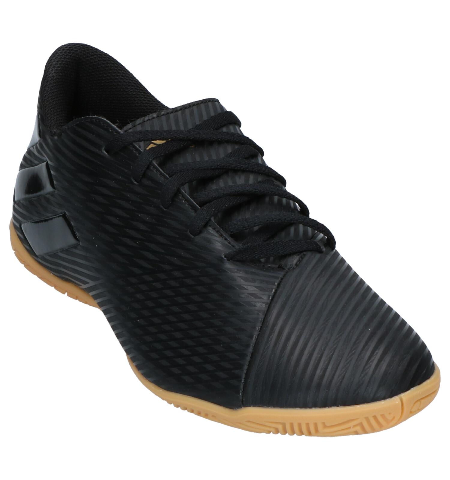 4 Zwarte Adidas Nemeziz 19 Zaalvoetbalschoenen wmnN08