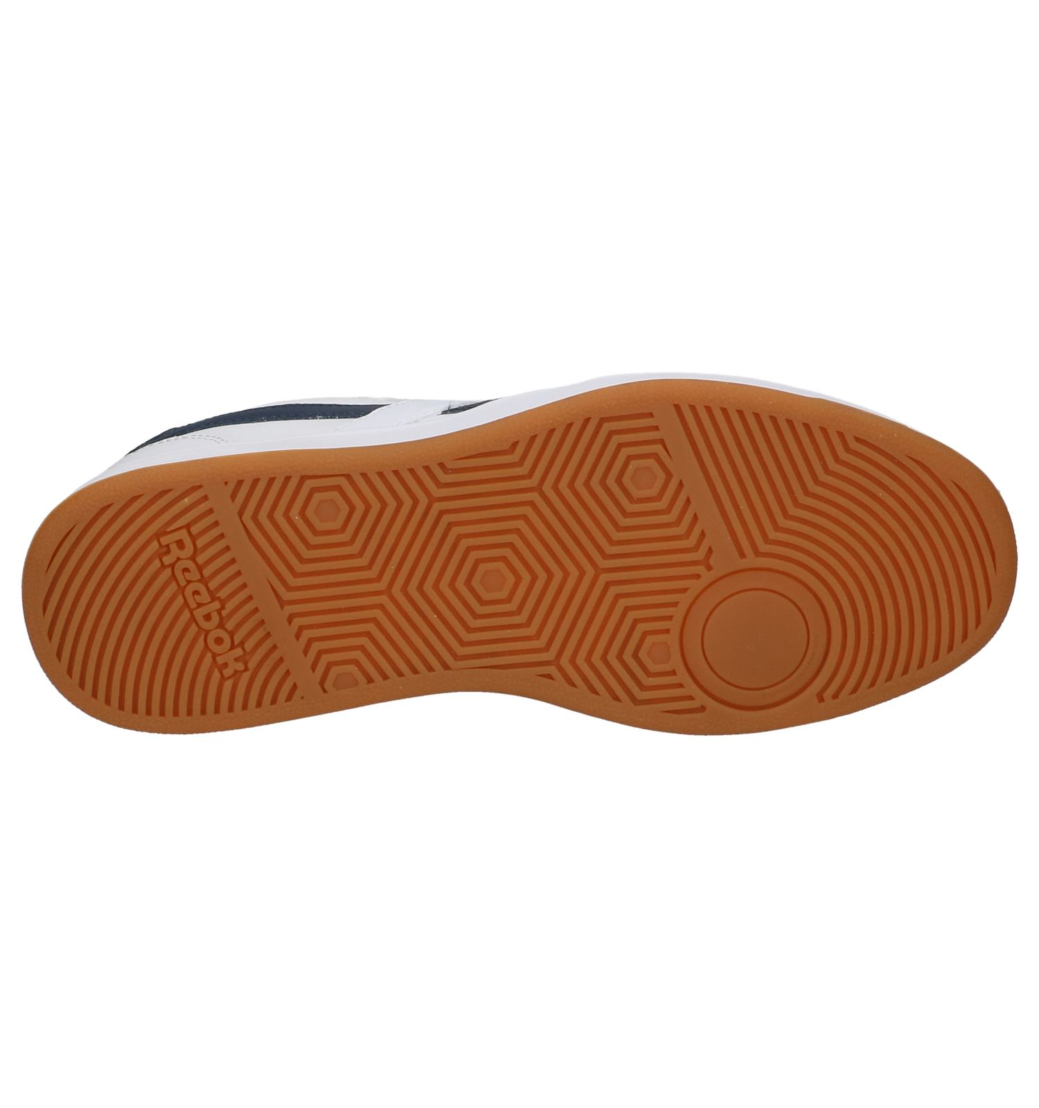 Sportieve Witte Lage Royal Reebok Techqu Sneakers 54RLc3qAj