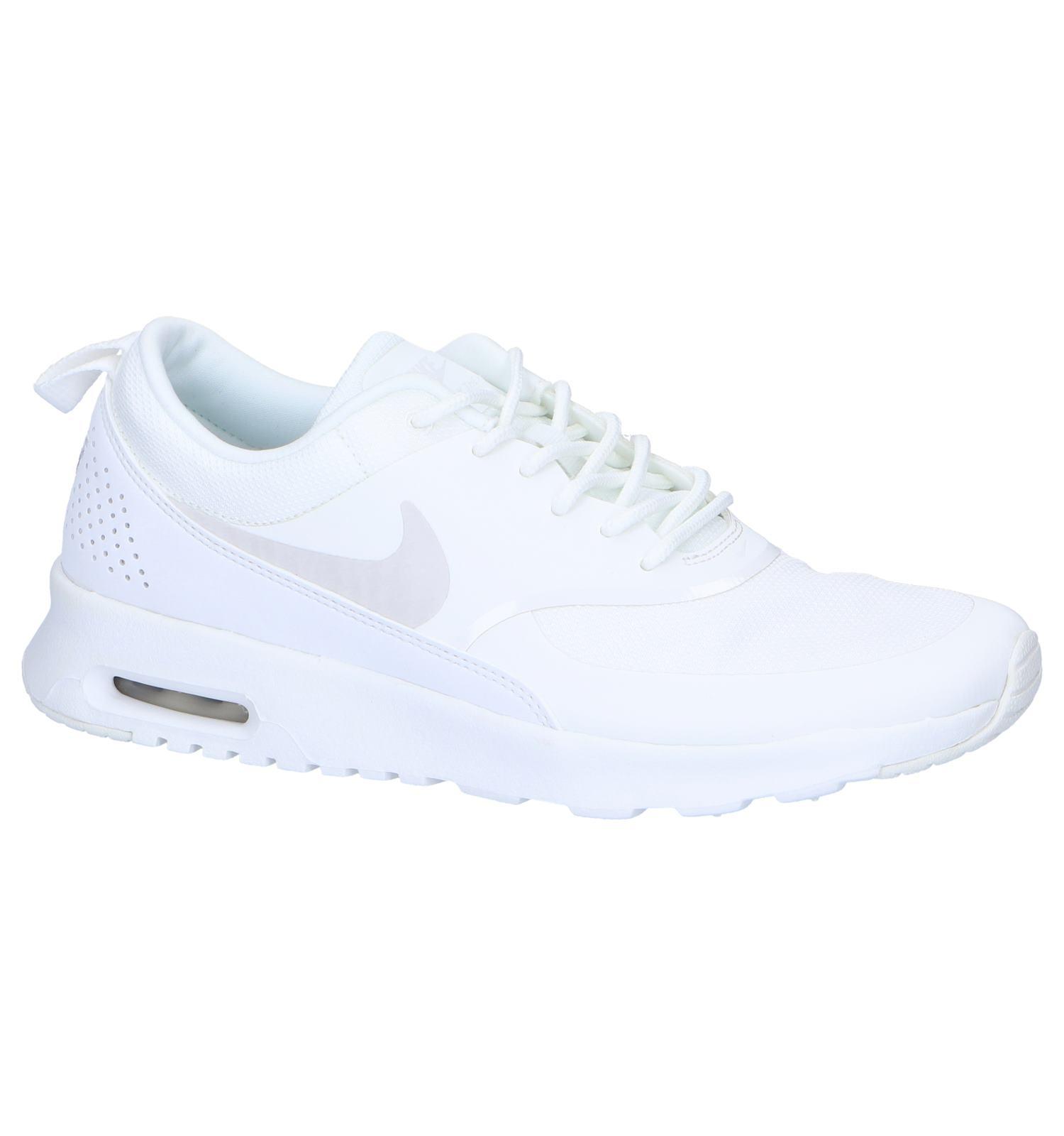 Witte Sneakers Nike Air Max Thea | SCHOENENTORFS.NL | Gratis verzend en  retour