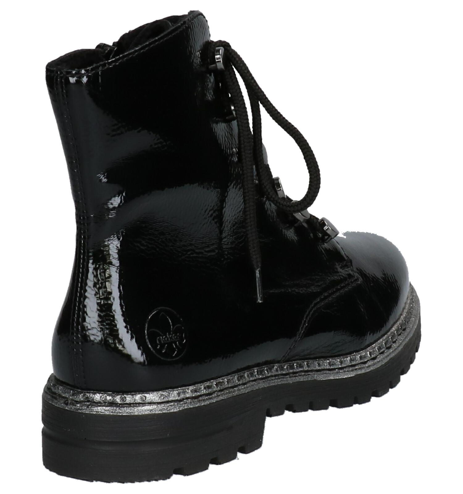 Rieker Zwarte Boots | SCHOENENTORFS.NL | Gratis verzend en