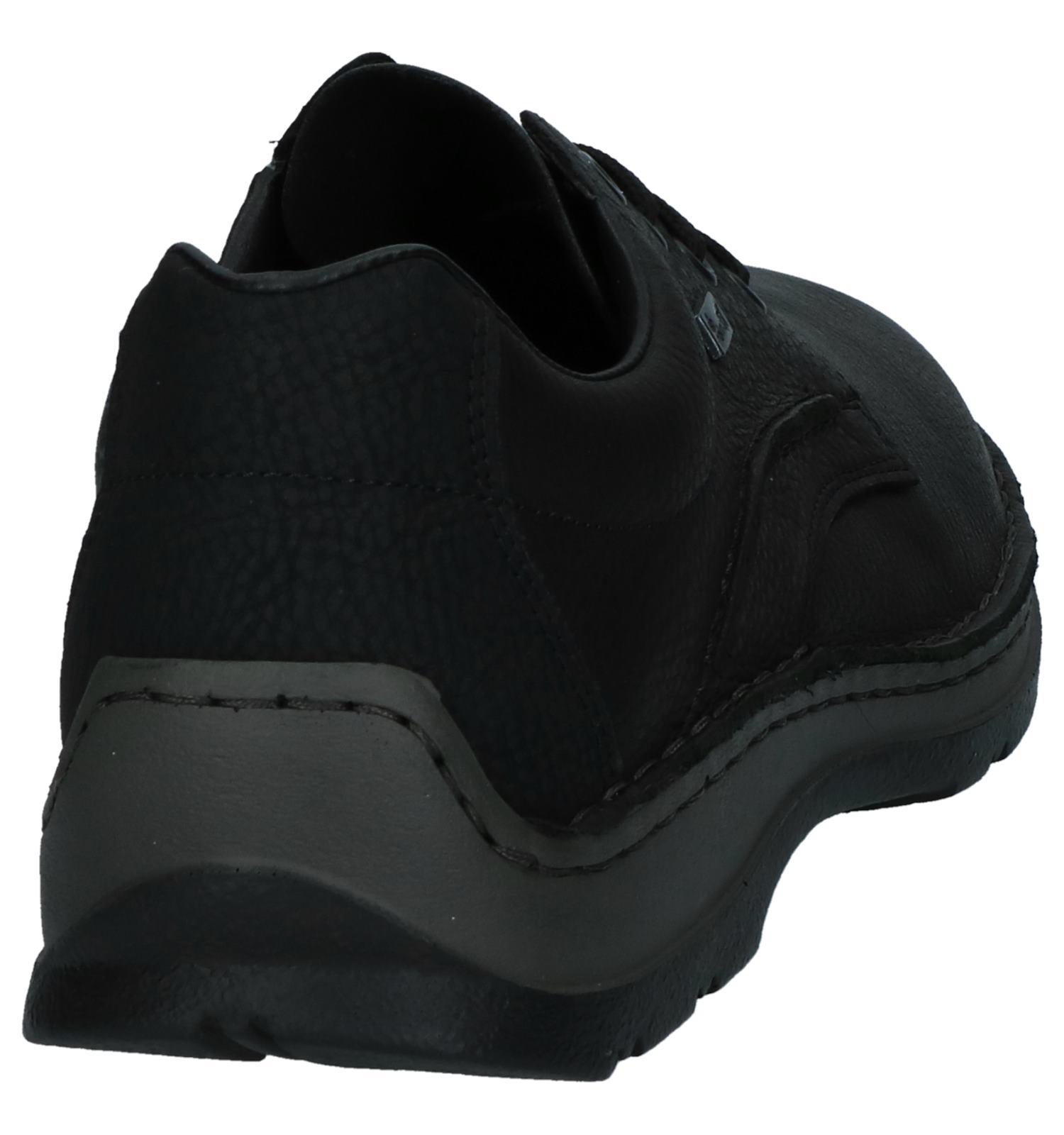 Rieker Zwarte Veterschoenen Veterschoenen Zwarte Rieker Comfortabele Rieker Comfortabele MpLjUGqzSV