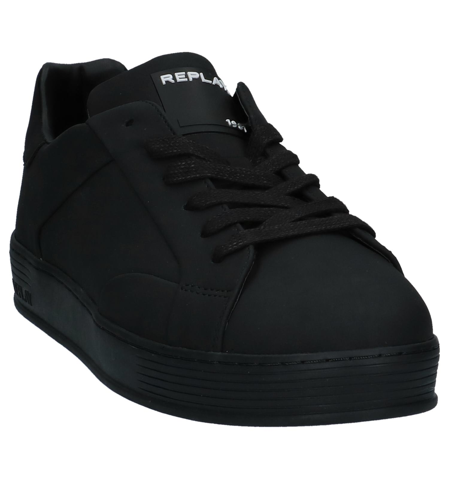 Casual Veterschoenen Replay Replay Veterschoenen Zwarte Council Council Zwarte Casual Ygv76fbyI