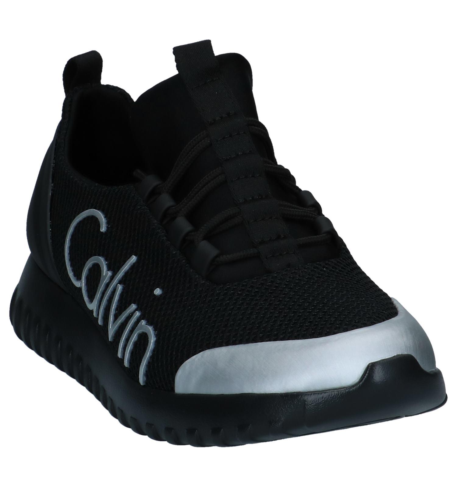 Zwarte Slip Calvin Ron Sneakers Klein on sQhCtdrx