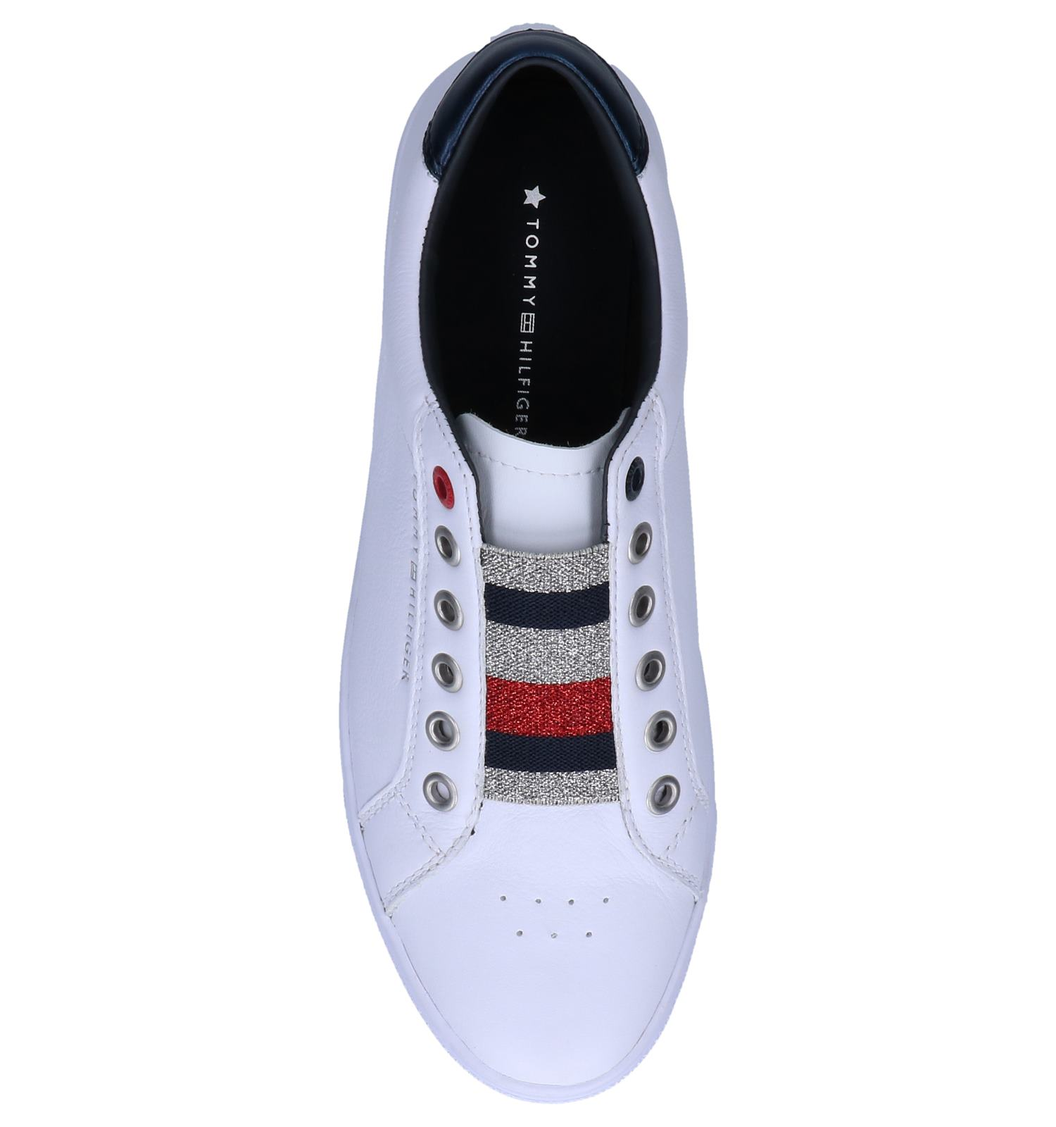 Hilfiger Witte Tommy on Slip Sneakers zpVqSUMG