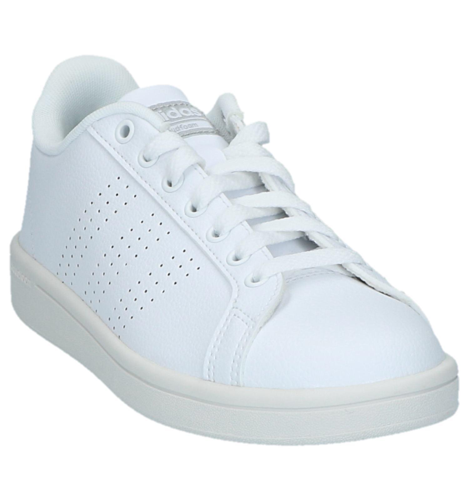 Adidas Cf Lage Sportieve Witte Advantage Sneakers Clean SMqzVUpG