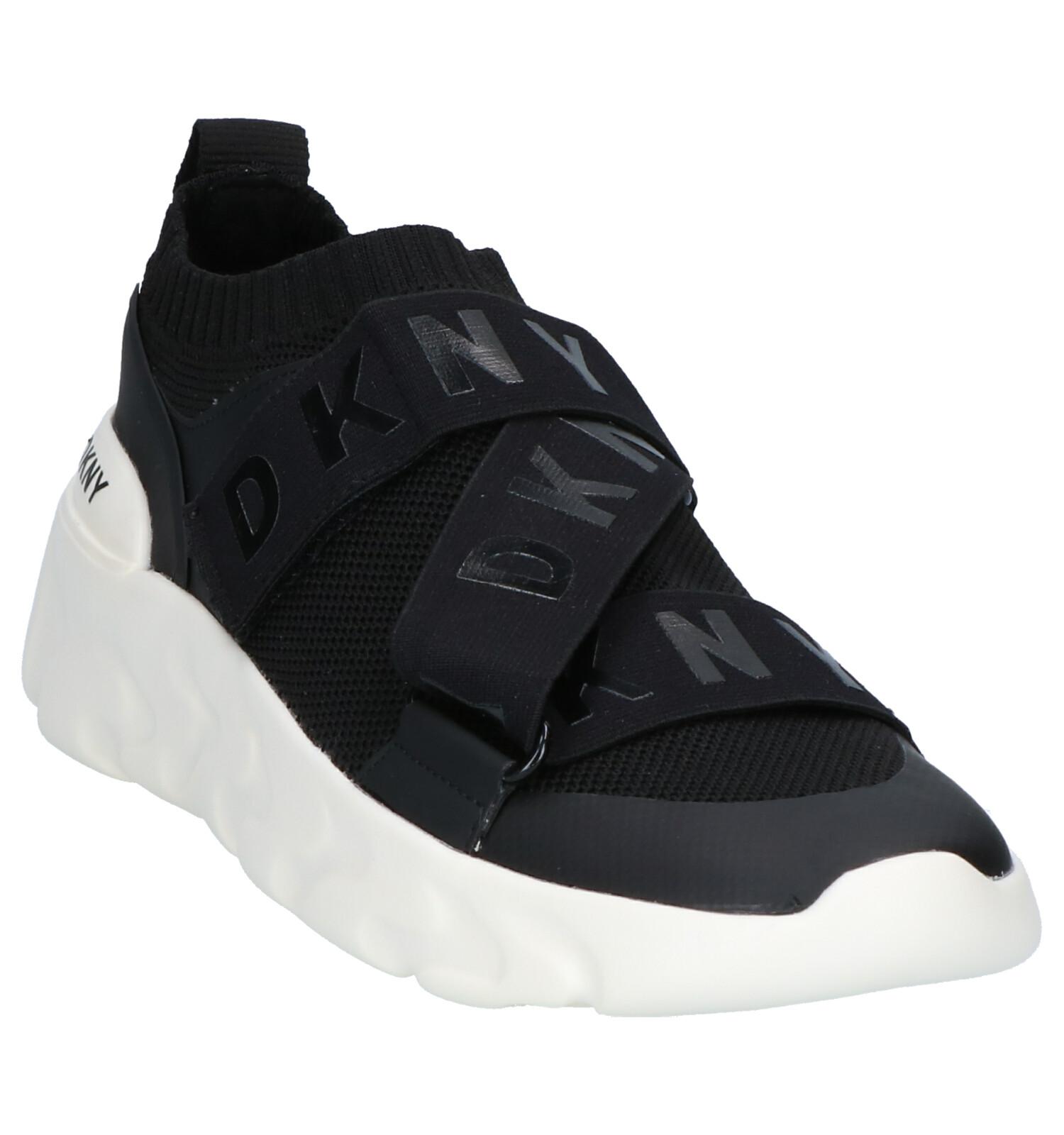 Slip Sneakers Clara on Zwarte Dkny e29YDHWEI