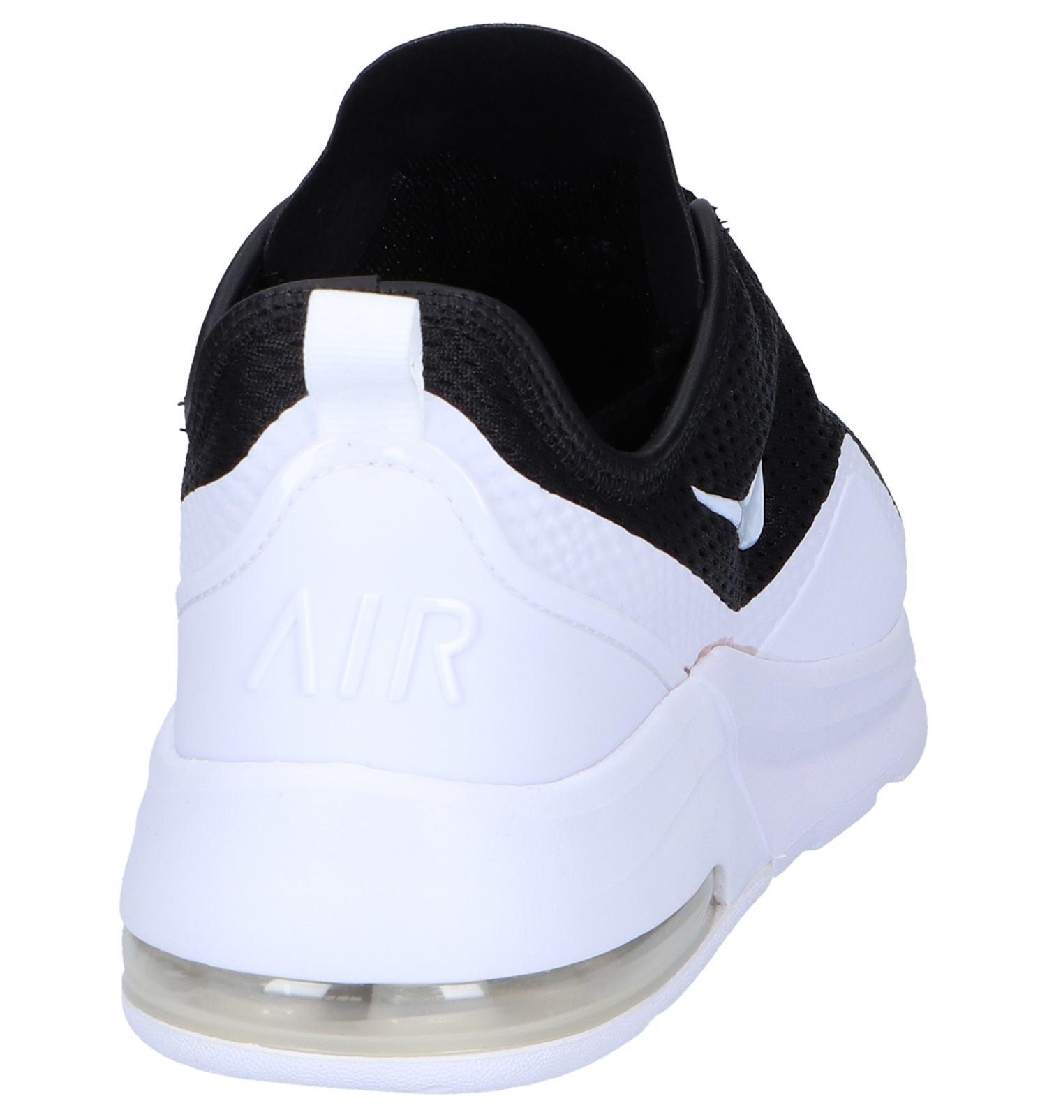 Nike Zwart witte 2 Motion Air Sneakers Max Rq3ALSj54c