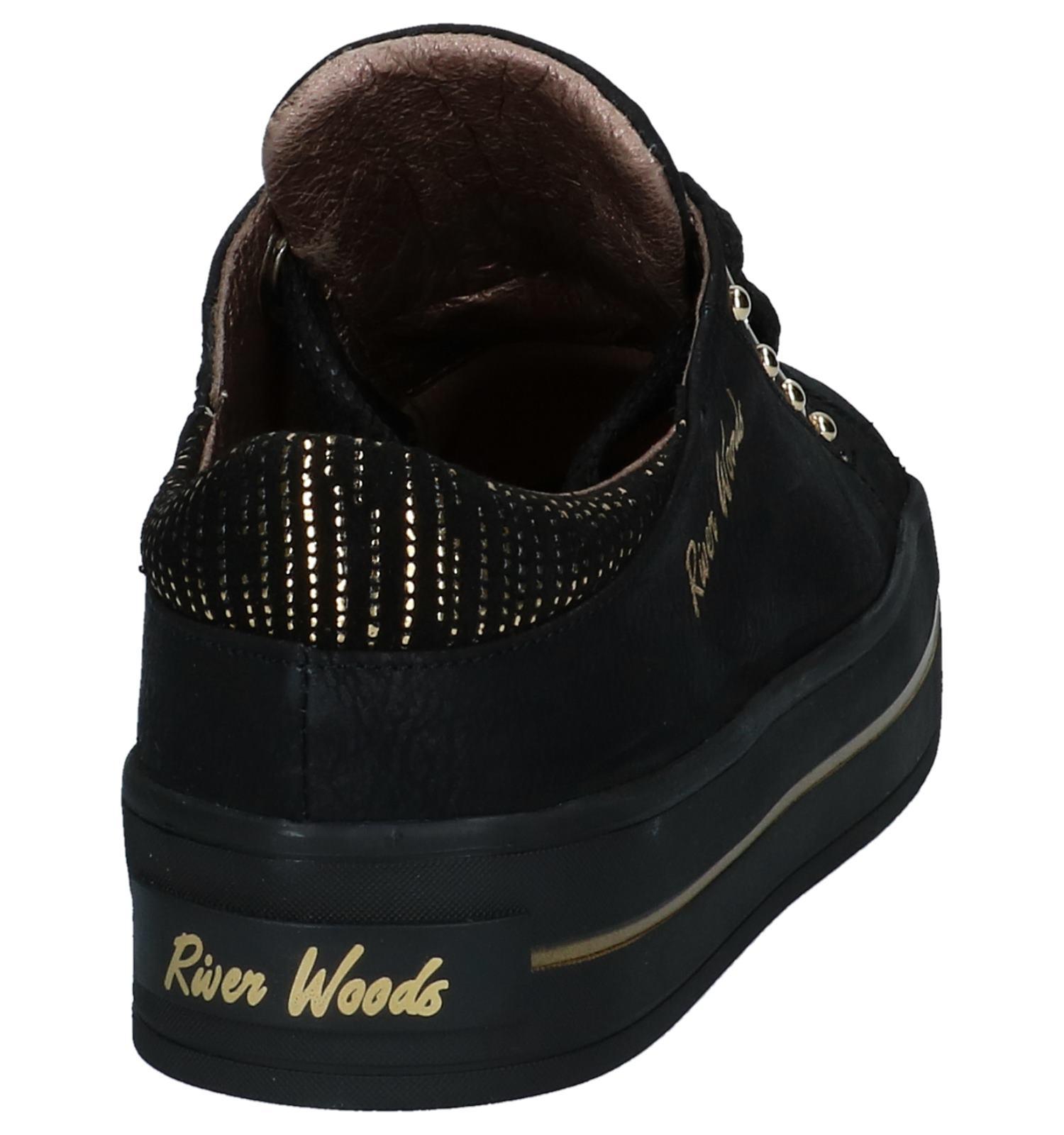 Woods Lage Zwarte Sneakers Geklede River Idee SUVqMzLpG