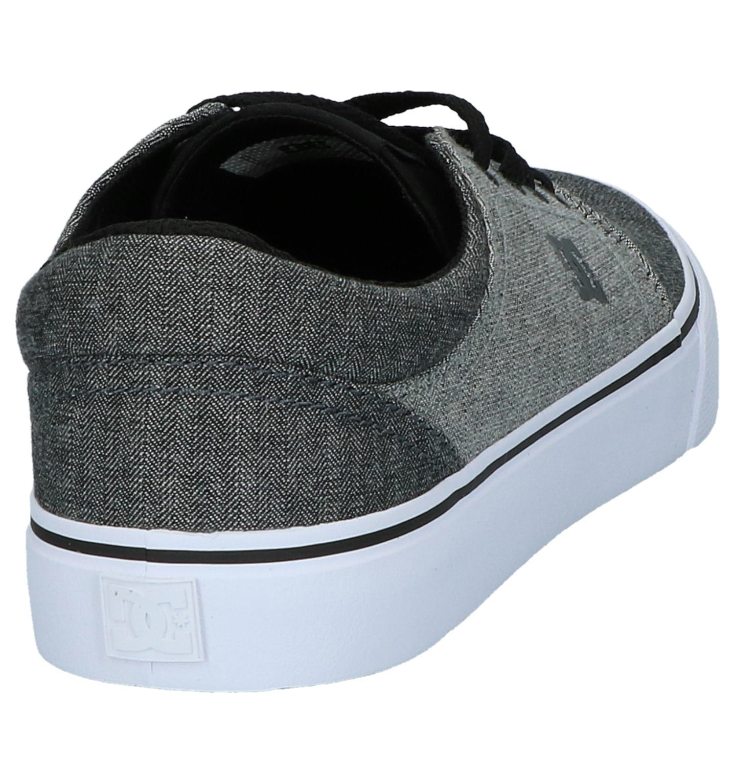 Grijze Donker Shoes Skateschoenen Trase Tx Dc BWEQreCxod
