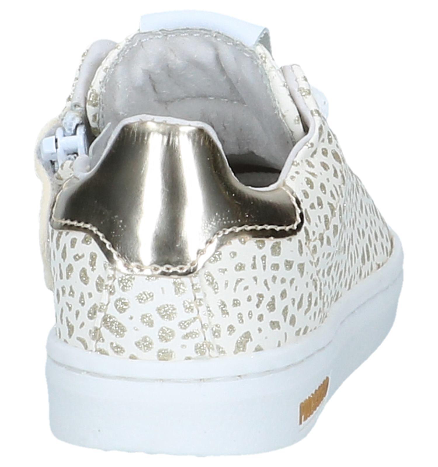 Witte Sneakers met RitsVeter Pinocchio | SCHOENENTORFS.NL