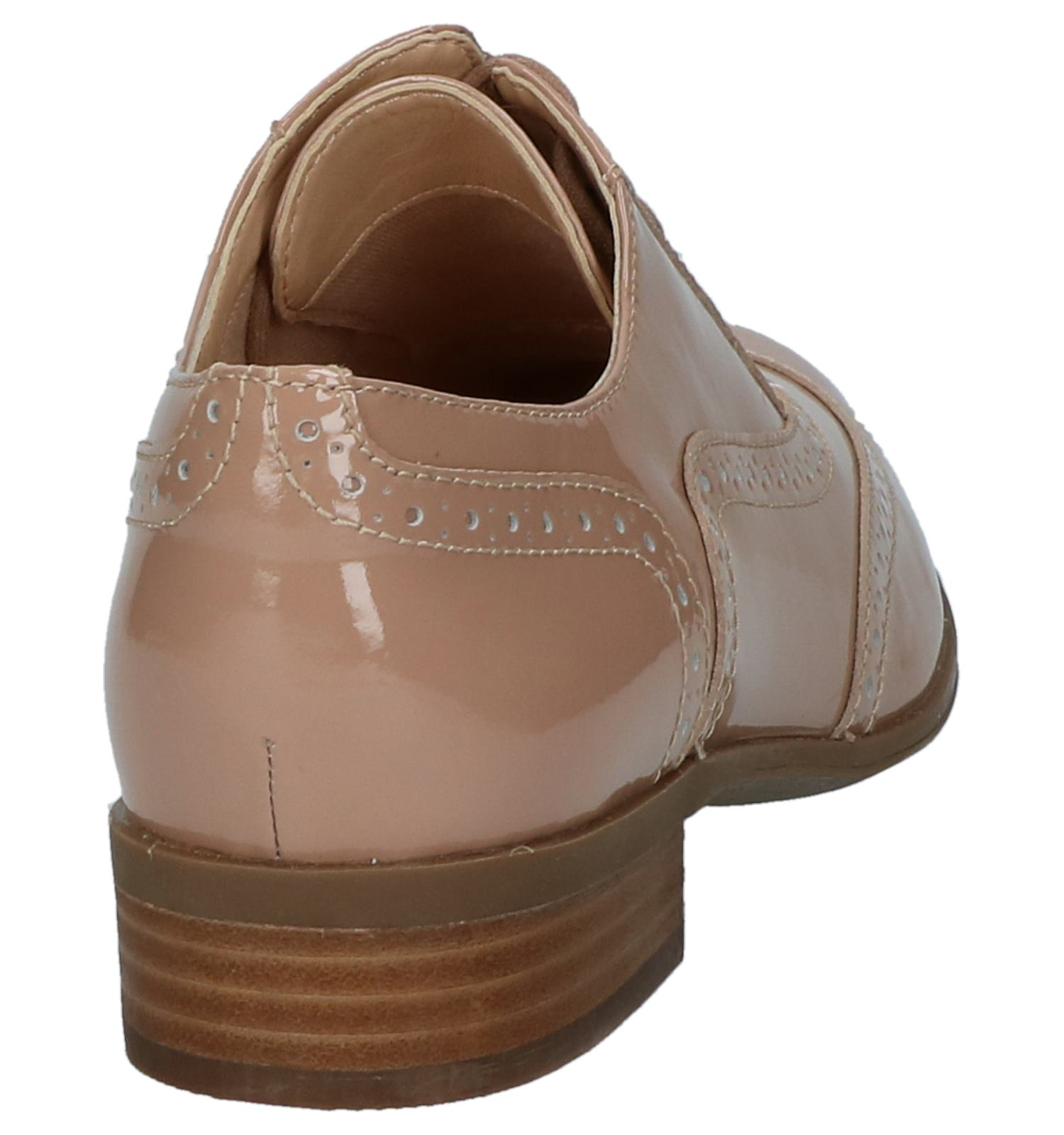 Hamble Roze Oak Veterschoenen Clarks Comfortabele q5ASc3RjL4