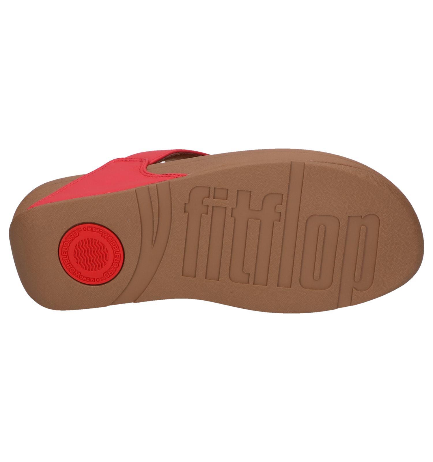 Rode Fitflop Rode Rode Slippers Lulu Fitflop Slippers Lulu 76ygbfYv