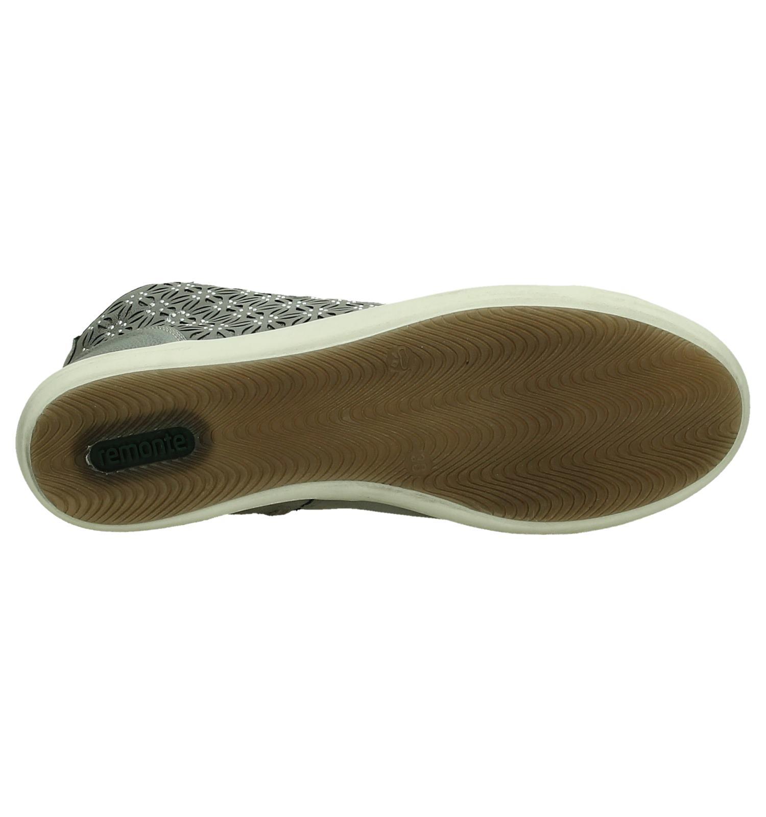 Remonte veter Sneaker Grijs Rits Grijs Remonte Sneaker 4R3AjL5