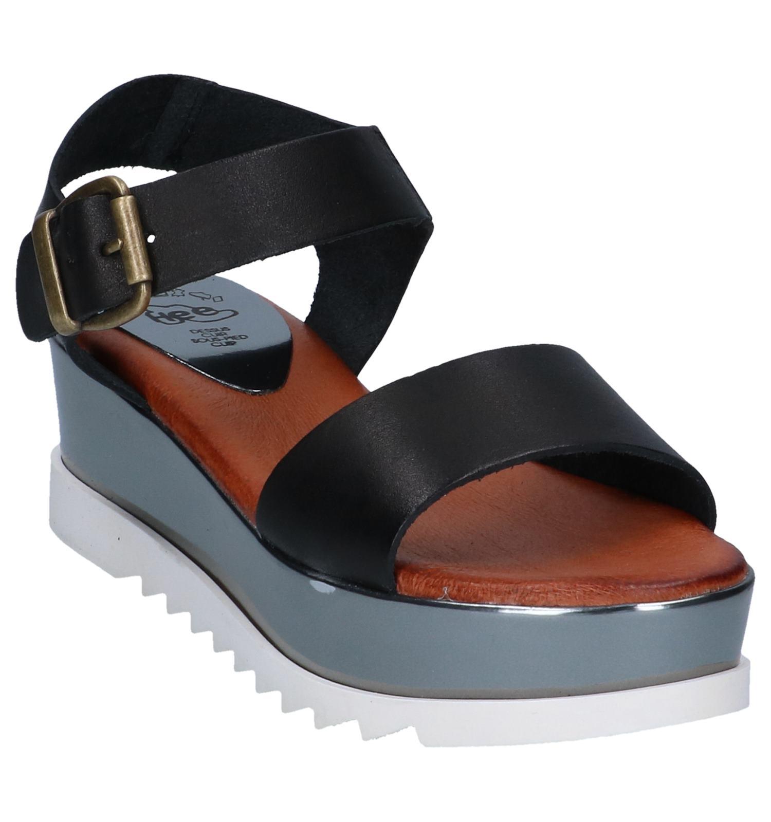 Zwarte Sandalen Caprice | TORFS.BE | Gratis verzend en retour