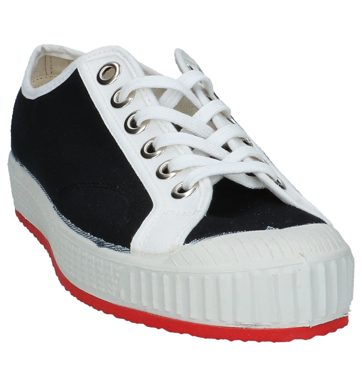 Sneakers Zwart Lage Low 0051 Sportieve Anton kTulwOPXZi