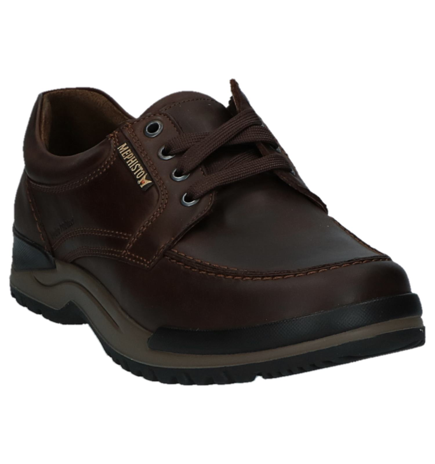 Veterschoenen Casual Donkerbruin Mephisto Hydro Protect D2WEH9IY