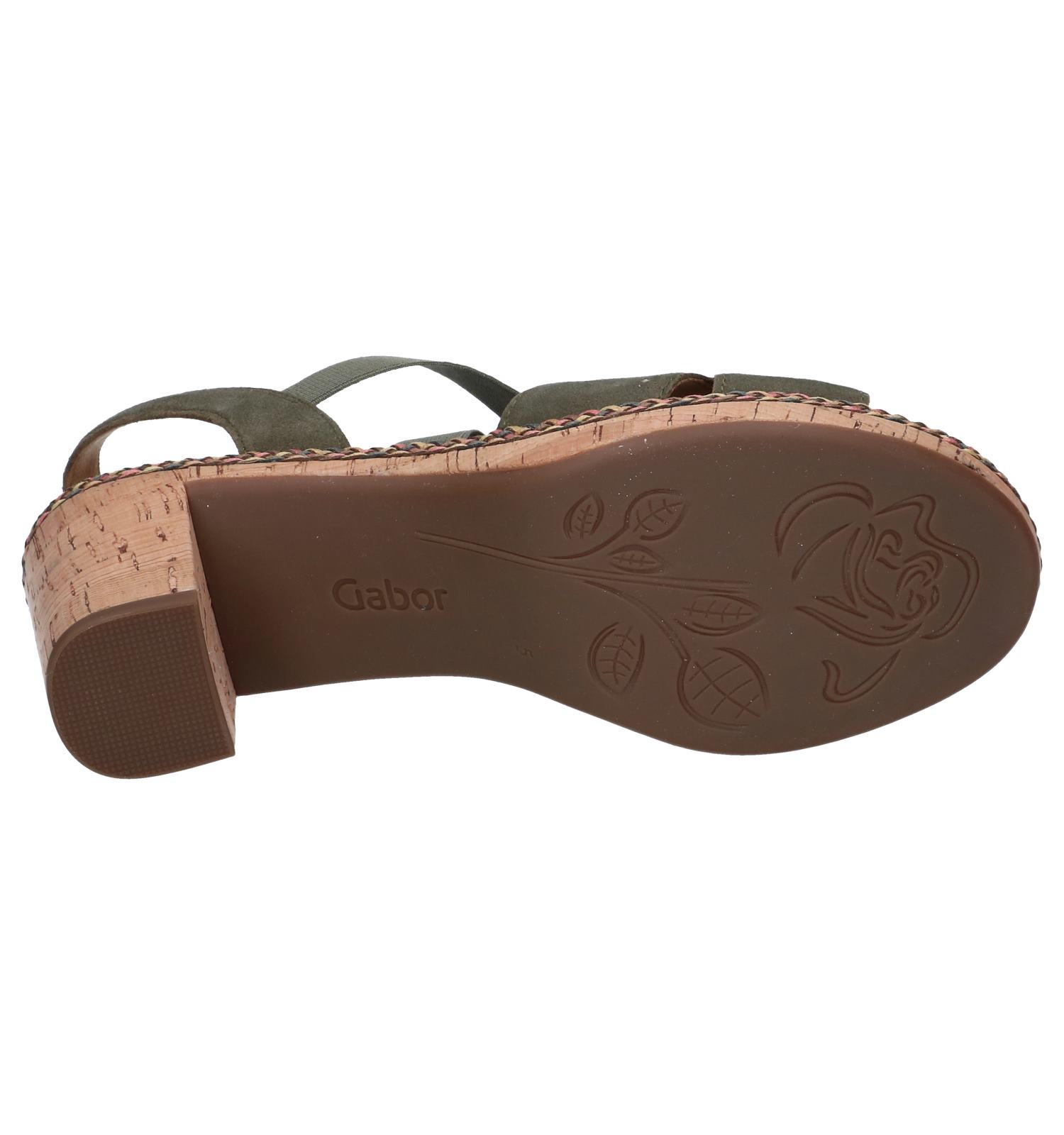 Kaki Comfort Gabor Comfort Sandalen Gabor Kaki Kaki Comfort Gabor Sandalen Sandalen wuOTkZPXi