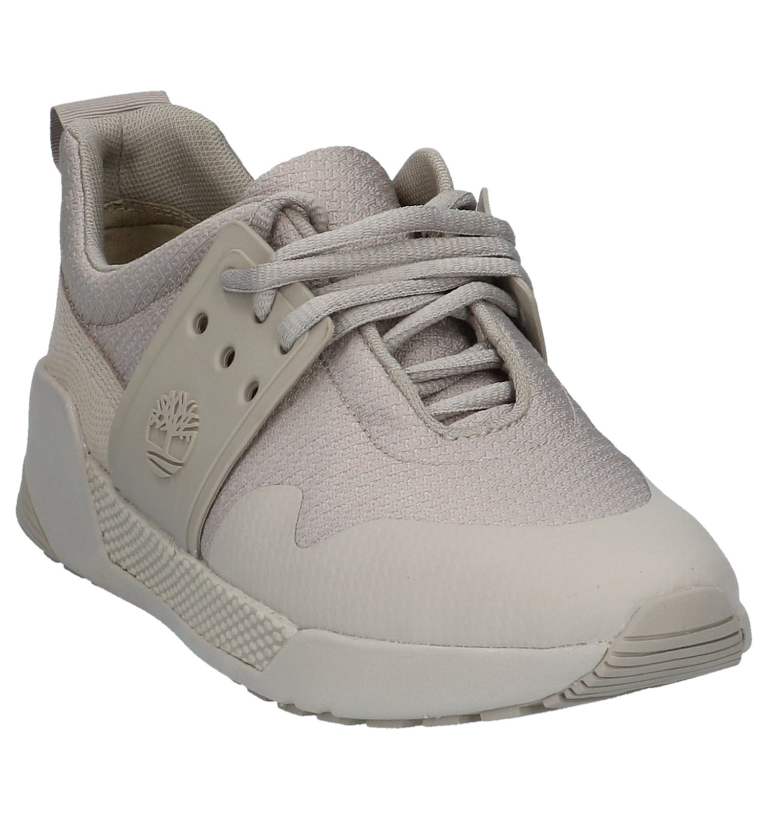 Geklede Knit Lage Timberland Sneakers Taupe Kiri Up Jl1cTFK3