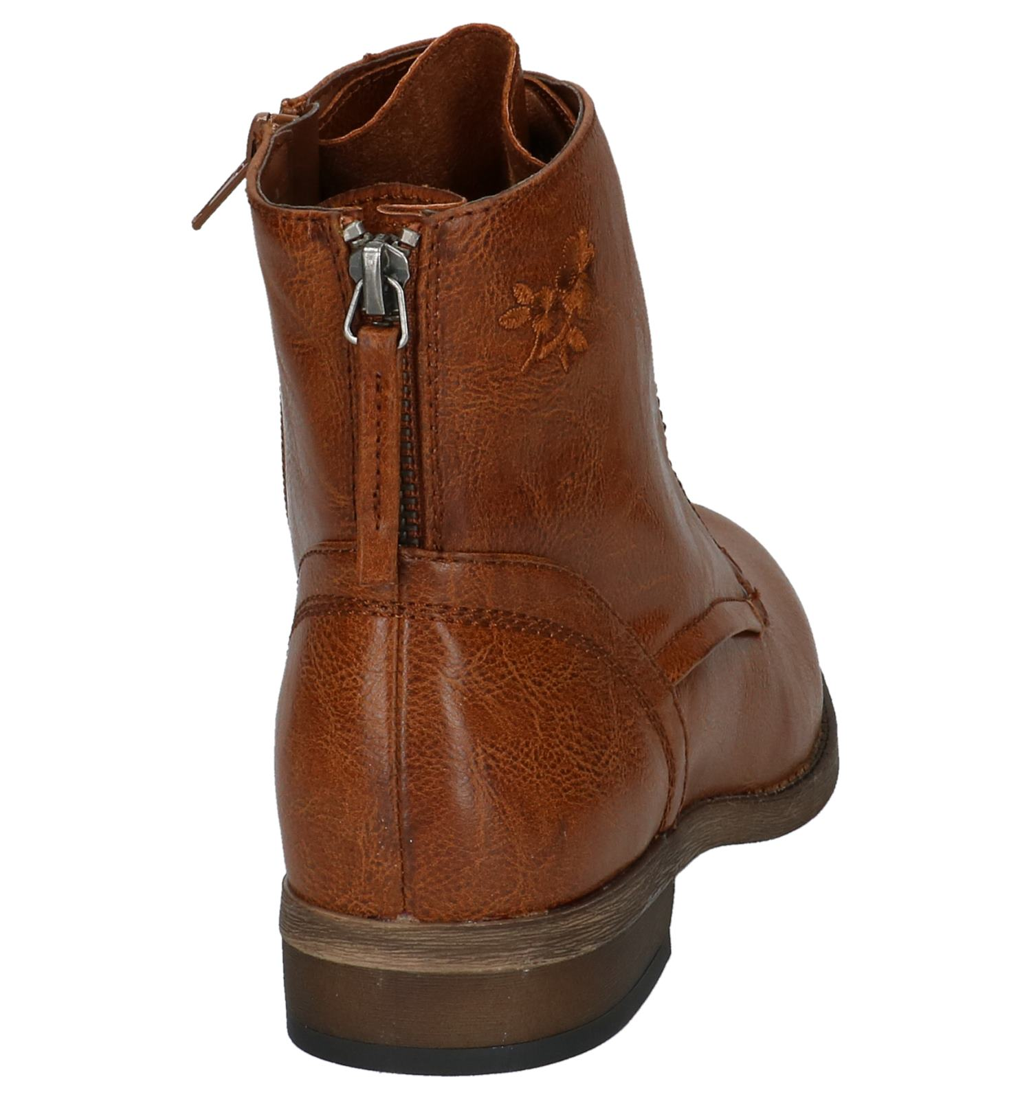 Met Rits Dazzle Cognac By Torfs Boots veter n0kwOP