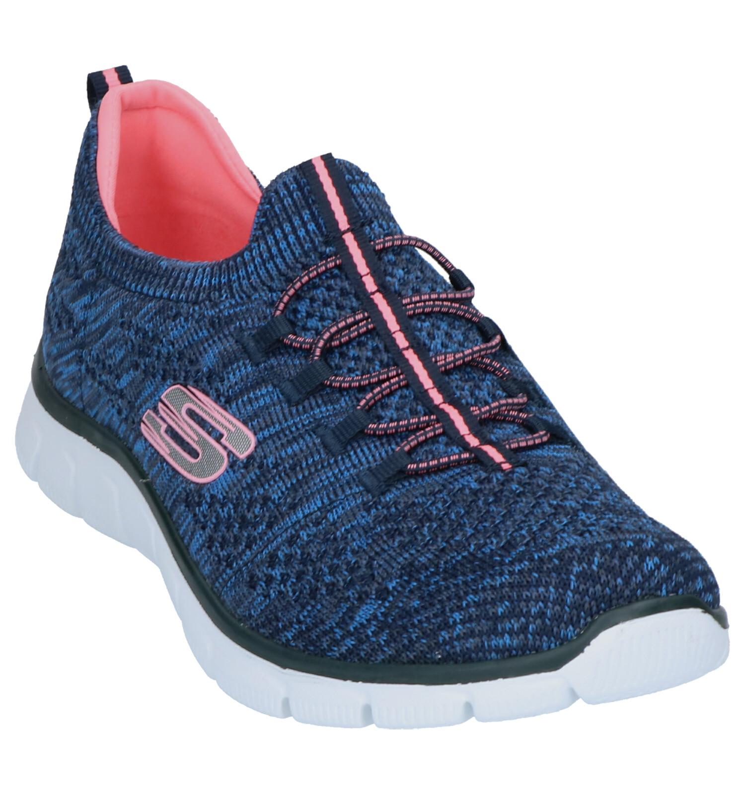 Sneakers on Slip Blauwe on Skechters Skechters Blauwe Slip F3TluJ5K1c