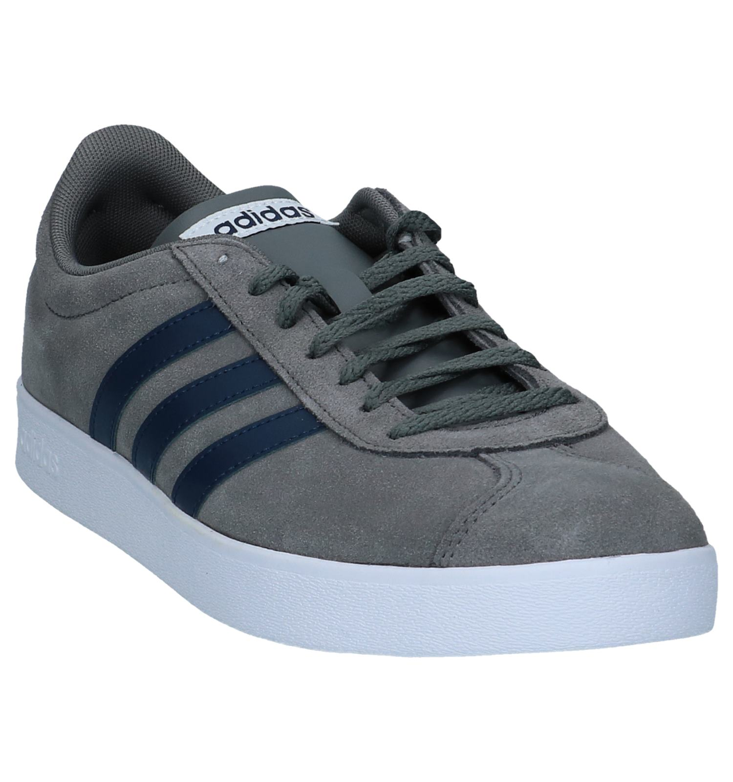 Sneakers Vl Grijze Court 0 2 Adidas W9EYDH2I