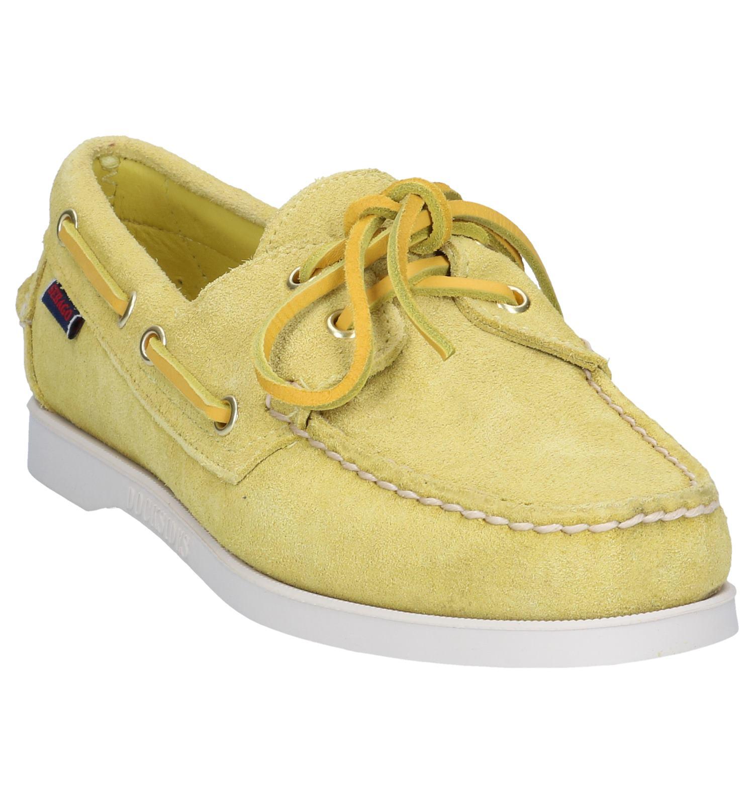 Bootschoenen Bootschoenen Sebago Gele Gele Bootschoenen Gele Gele Bootschoenen Dockside Sebago Dockside Dockside Sebago nONkwX0Z8P
