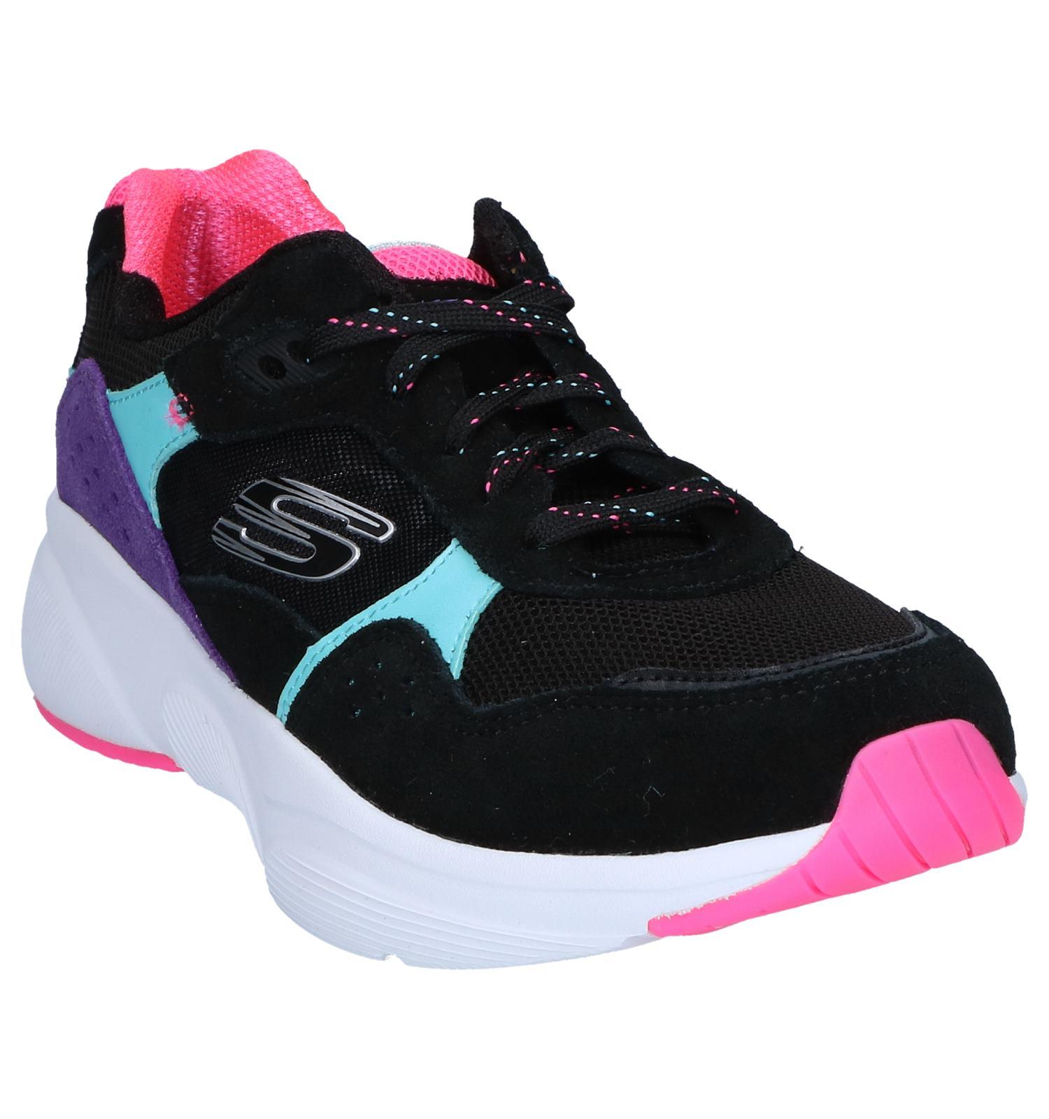 Zwarte Sneakers Skechers Zwarte Sneakers Meridian hQBtsrodCx