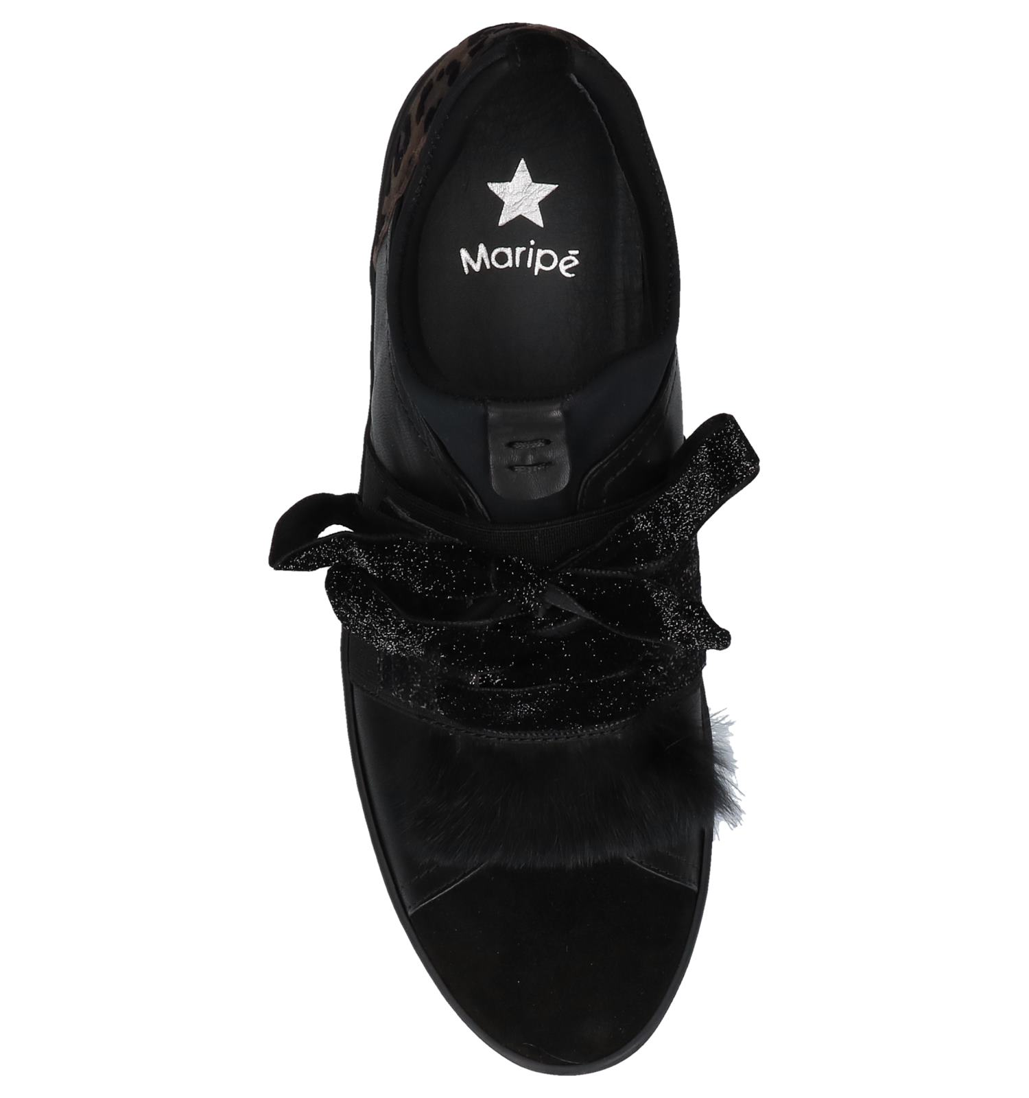 Lage Zwarte Maripé Sneakers Maripé Sneakers Zwarte Sneakers Zwarte Lage Maripé Lage K1JFTlc