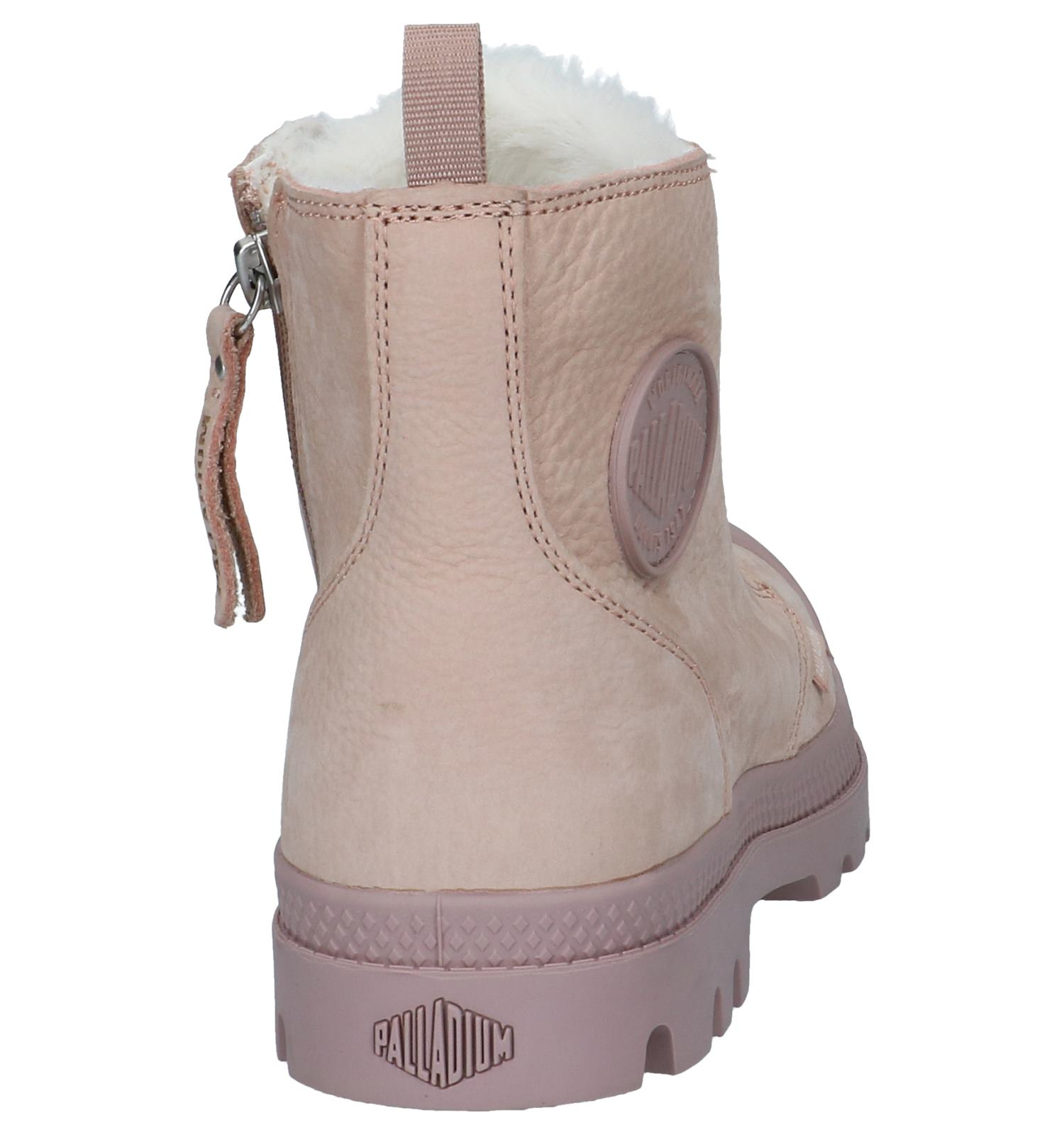 Pampa Rits Met Roze Palladium Boots veter Fl1KJc