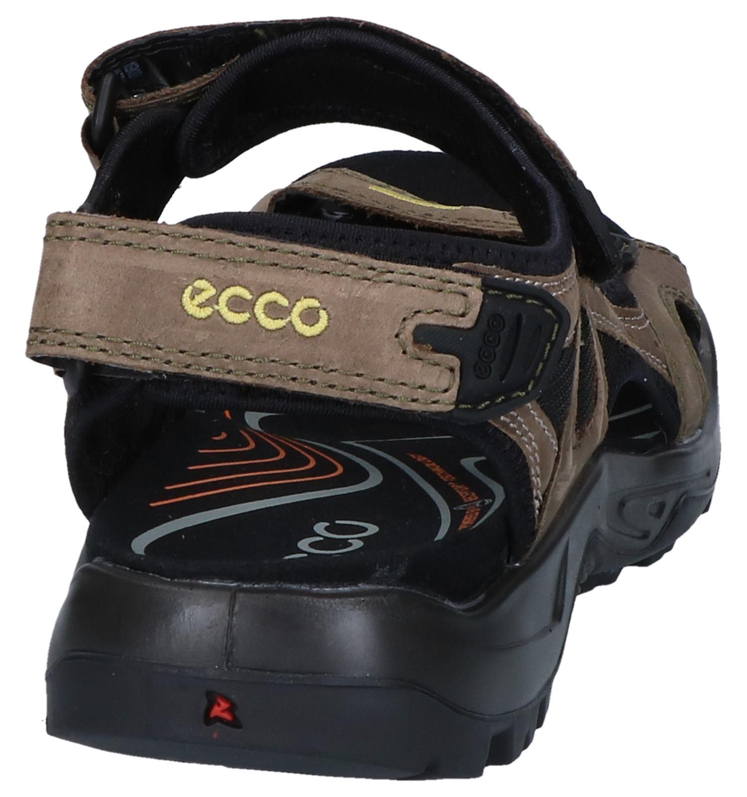 ECCO Offroad Sandalen Bruin   SCHOENENTORFS.NL   Gratis verzend en retour