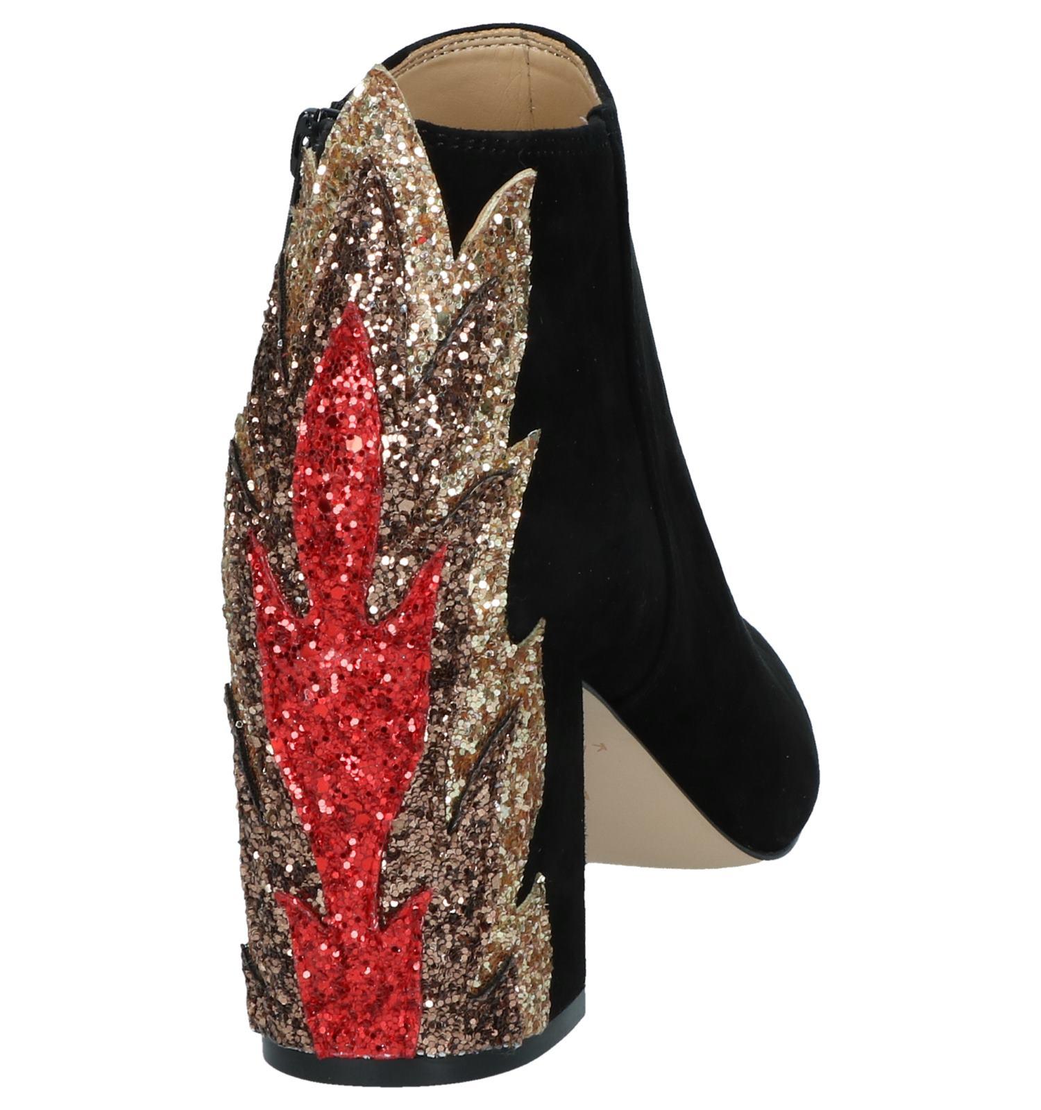 Zwarte Katy Perry Enkellaarzen Flame The fgbIYyvm76