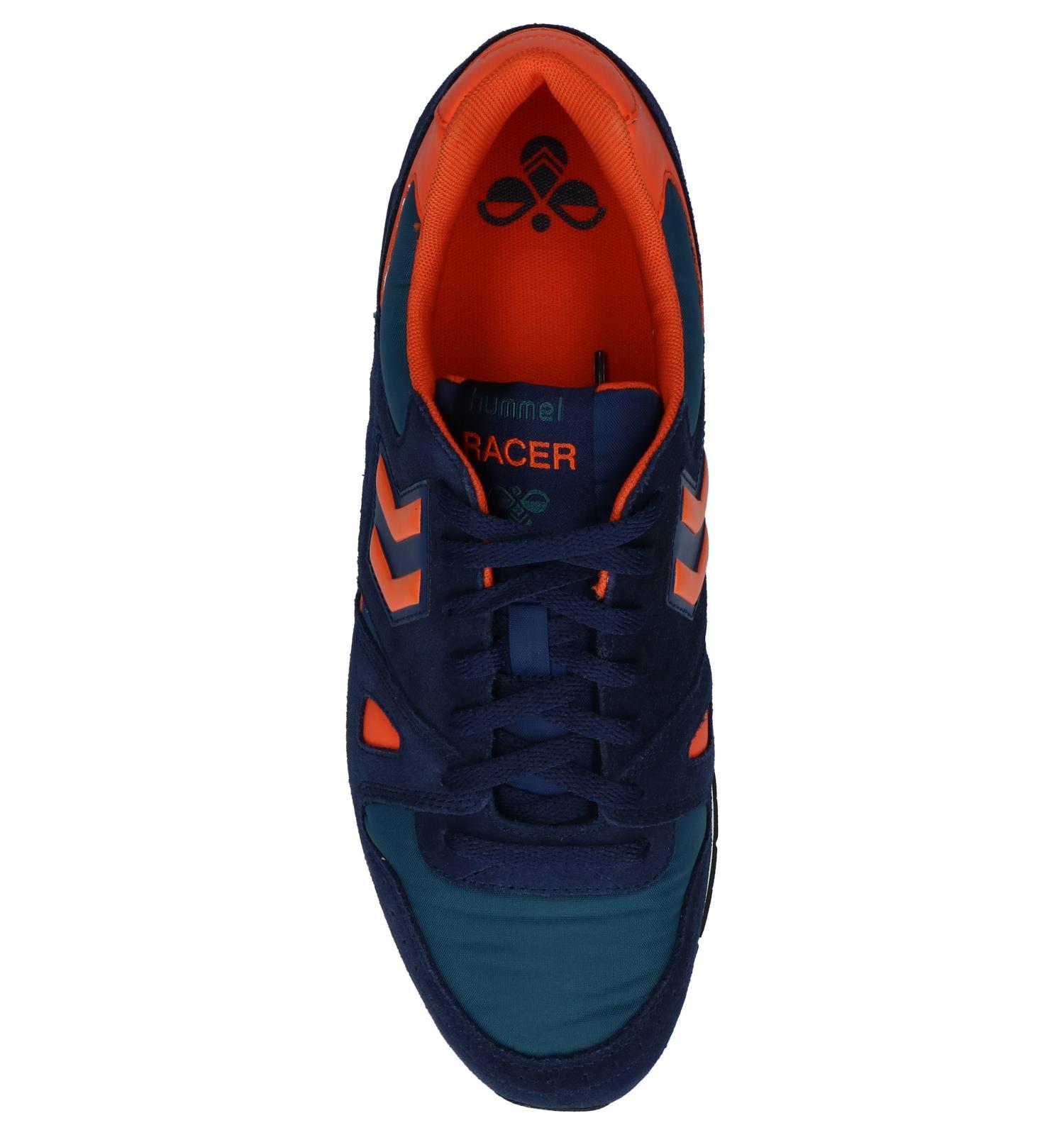 Hummel Blauwe Sneakers Lage Blauwe Marathona Lage gybf67
