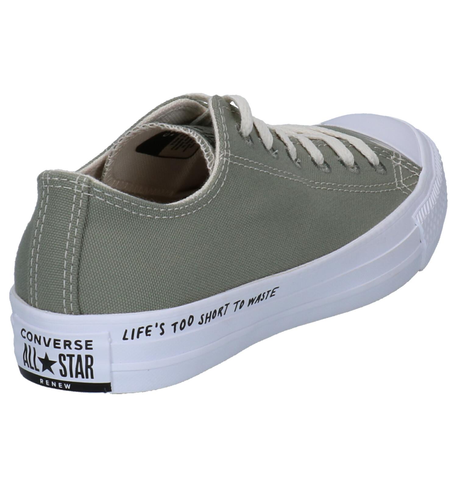 Renew Groene Sneakers Converse All Star Ivf6gb7Yym