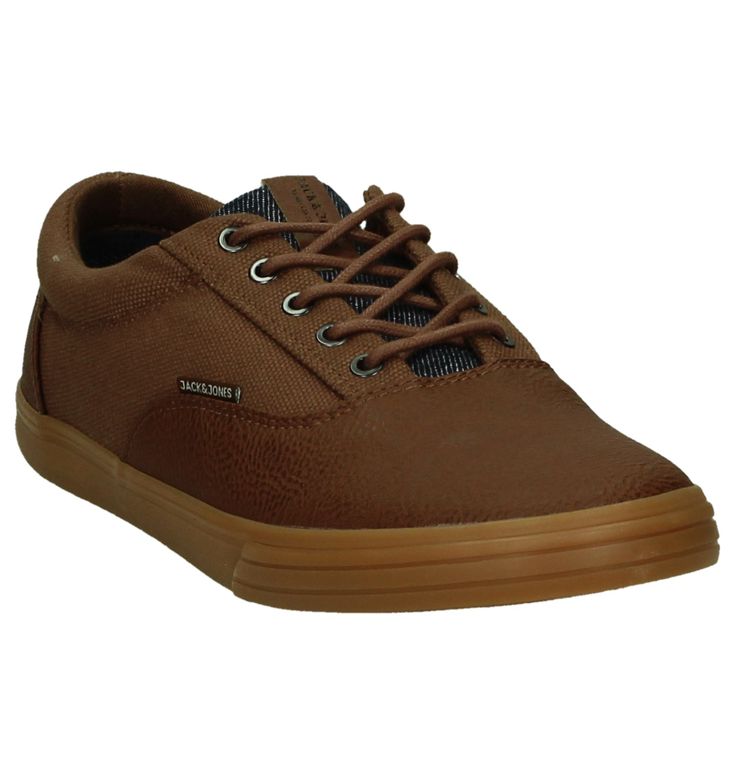 Cognac Mix Jackamp; Veterschoenen Jones Casual Vision Canvas rBWxCoed
