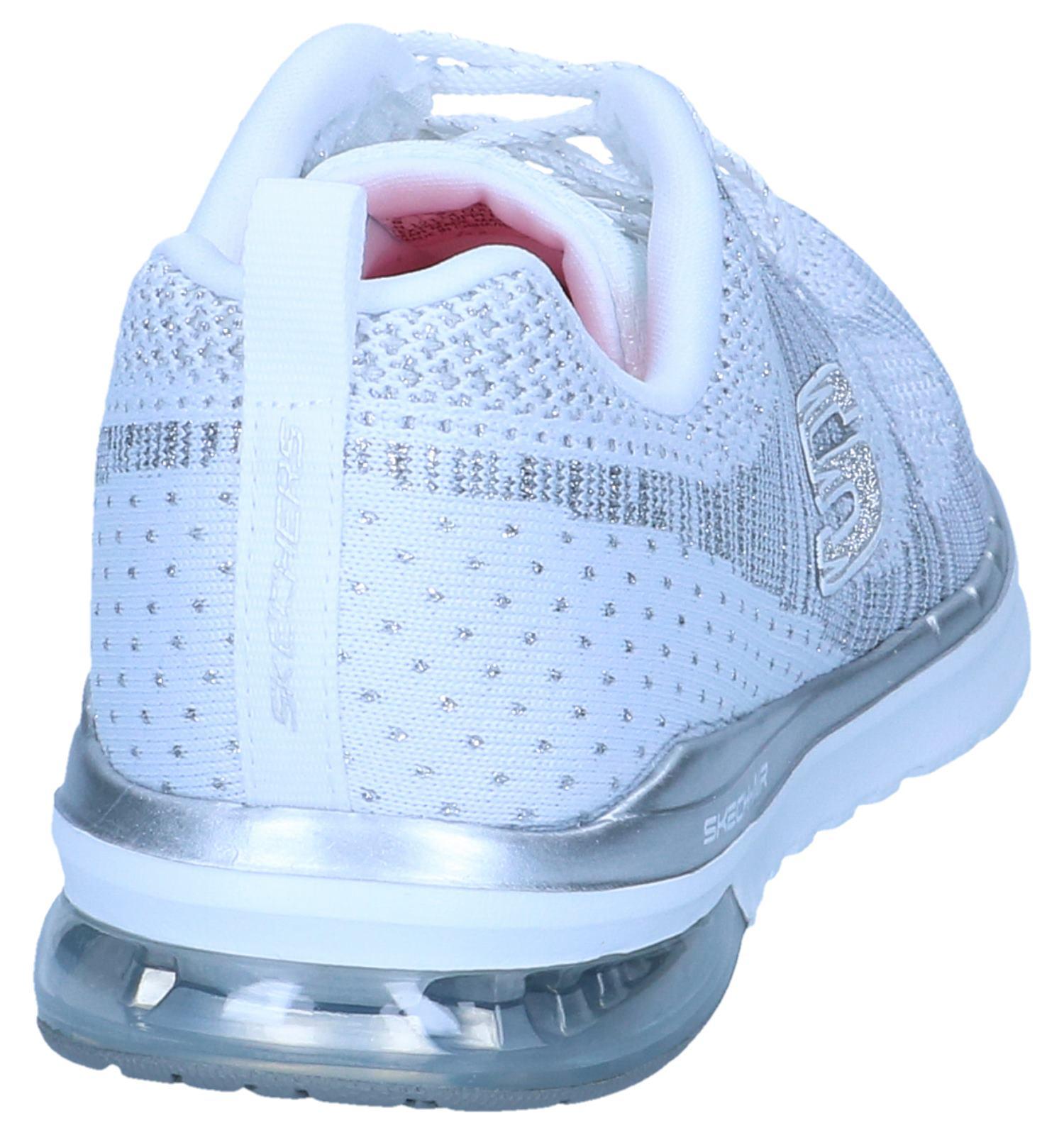 Zilveren Sneakers Skechers | SCHOENENTORFS.NL | Gratis