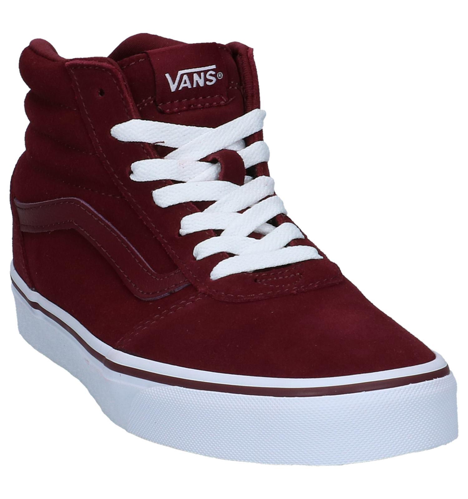 Hoge Ward Schoenen Skate Vans Hi Bordeaux Nn8wvm0