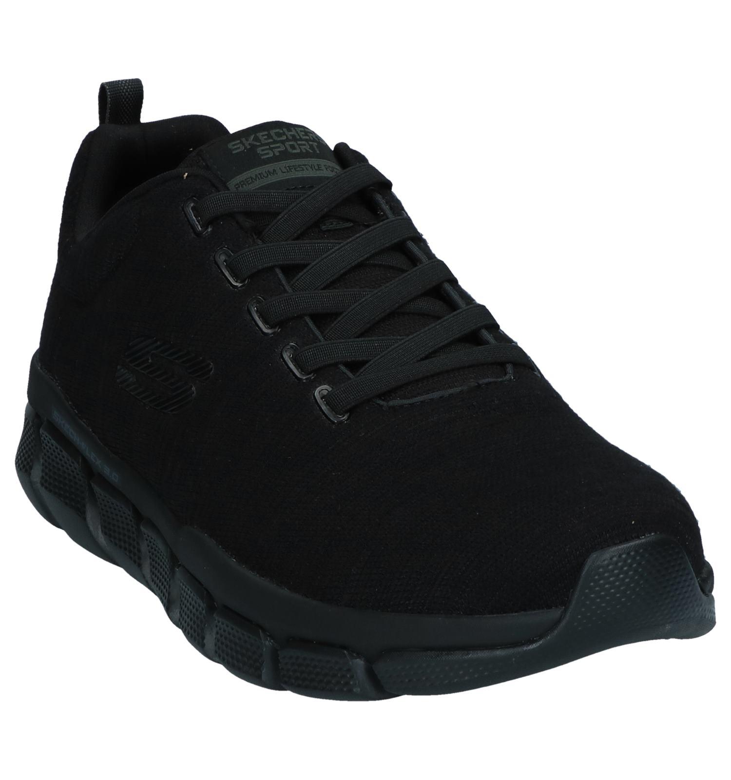 Slip Relaxed on Sneakers Fit Skechers Zwarte ZOiXPku